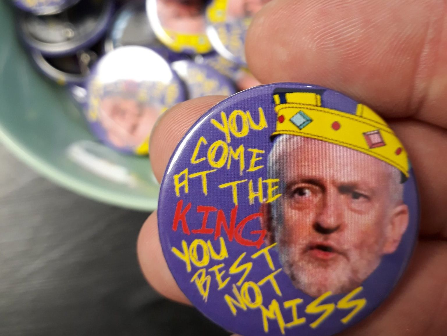 Corbyn Fridge Magnet (59mm)